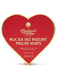 Milk Sea Salt Hazelnut Paraline Hearts