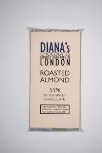 Roasted Almond 55% Bitter-Sweet Chocolate Bar