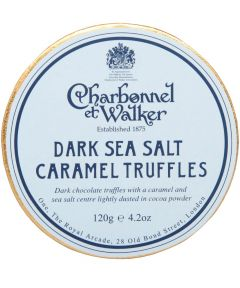 Dark Sea Salt Caramel Truffles