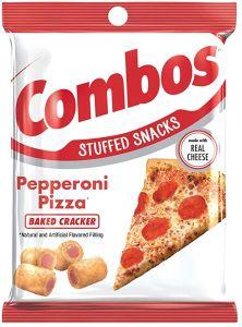 Pepperoni Pizza Baked Cracker