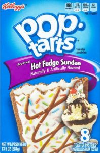 Pop-Tarts Frosted Hot Fudge Sundae