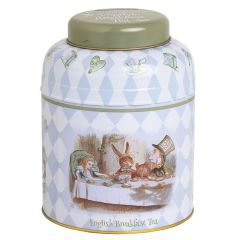 Alice in Wonderland Tea Caddy