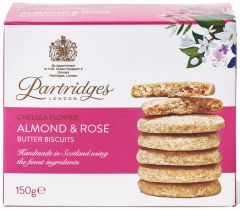 Chelsea Flower Almond & Rose Biscuits