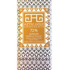 72% Ginger Cacao Bar