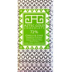 72% Chilli & Lime Cacao Bar