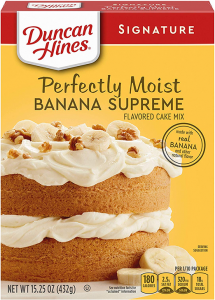 Banana Supreme Cake Mix