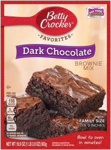 Dark Chocolate Brownie Mix