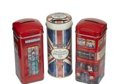 Best Of British Tall Tea Tin Collection With 42 Teabags