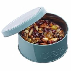 Jewel Fruit Cake & Brandy In Round Tin
