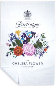 Chelsea Flower Tea Towel