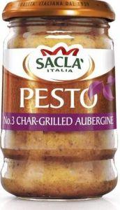 Char -Grilled Aubergine Pesto