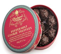 Christmas Peppermint Cookie Truffles