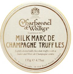 Milk Marc De Champagne Truffles
