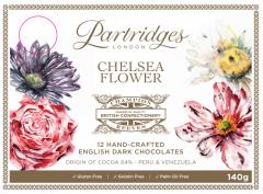 Chelsea Flower Hand-crafted Dark Chocolates