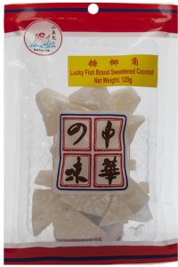 Chinese Sweetened Coconut Slices