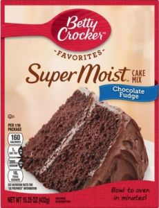 Super Moist Chocolate Fudge Cake Mix