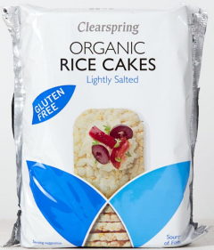 Organic Rice Cakes - Lightly Salted