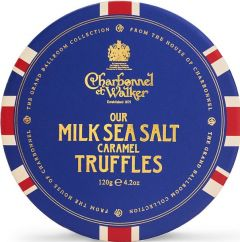 Union Flag Milk Sea Salt Caramel Chocolate Truffles