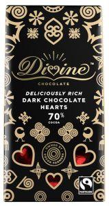 Dark Chocolate Hearts