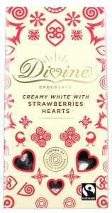 White Chocolate and Strawberry Hearts