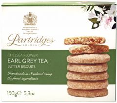 Chelsea Flower Earl Grey Tea Biscuits