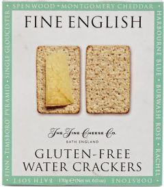 Gluten Free Water Crackers