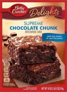 Supreme Chocolate Chunk Brownie Mix