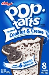 Pop-Tarts Frosted Cookies & Creme