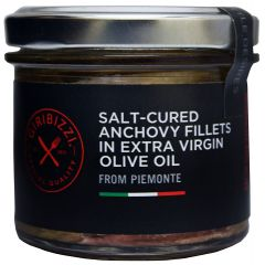 Salt-Cured Anchovy Fillets in Extra Virgin Olive Oil