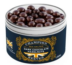 Dark Chocolate Hazelnuts Gift Tin