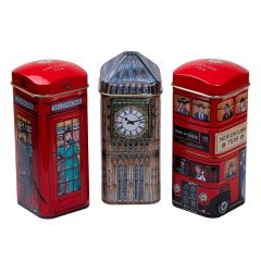 Heritage Tea Selection Triple Tea Tins Of 14 Gift Pack Big Ben