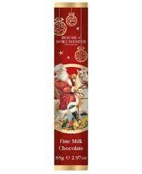 Traditional Santa Fine Milk Chocolate Bar