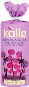 Blueberry & Vanilla Rice Cakes