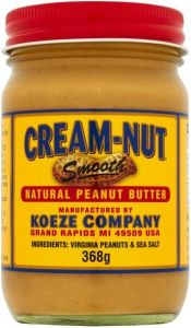 Cream Nut Natural Smooth Peanut Butter