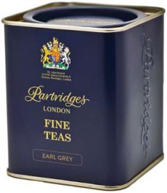 Partridges Earl Grey Loose Leaf Tea Tin