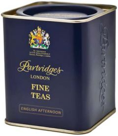Partridges English Afternoon Loose Leaf Tea Tin