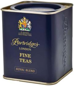 Partridges Royal Blend Loose Leaf Tea Tin