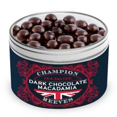 Dark Chocolate Macadamia Gift Tin