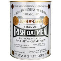 Irish Oatmeal Steel Cut Tin