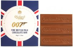007 Fine British Milk Chocolate Bar