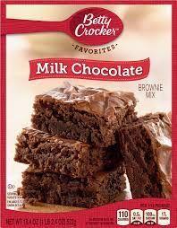 Milk Chocolate Brownie Mix