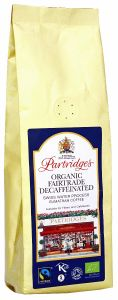 Partridges Organic Fairtrade Decaffeinated Sumatran Coffee