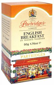 Partridges English Breakfast Tea Bags
