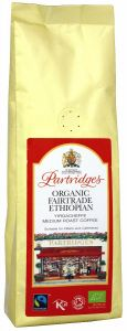 Partridges Organic Fairtrade Ethiopian Coffee