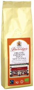 Partridges Organic Fairtrade Papua New Guinea Coffee