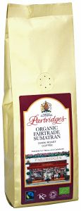 Partridges Organic Fairtrade Sumatran Coffee