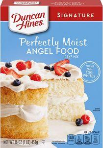 Perfectly moist angel food