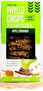 Apple Cinnamon Phyllo Crisps