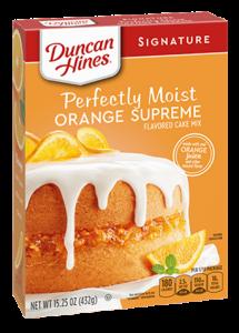 Signature Orange Supreme Cake Mix