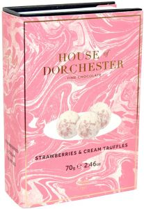 Strawberries & Cream Truffles Book Box